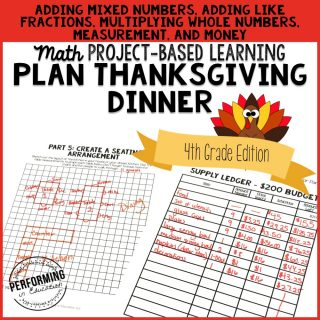 Plan Thanksgiving Dinner 4th