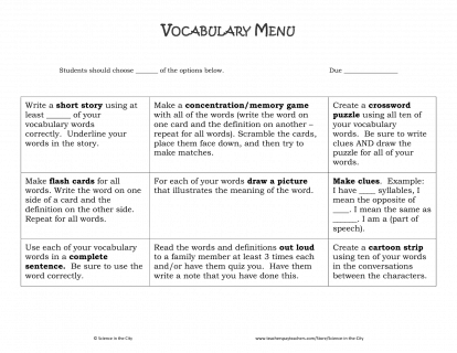 Tips for teaching tier 2 vocabulary